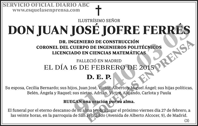 Juan José Jofre Ferrés